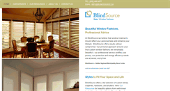 Preview of blindsource.ca
